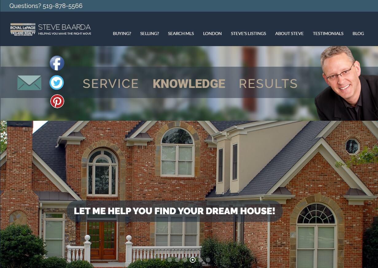 Front Page www stevebaarda com